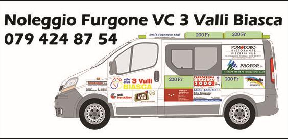 Noleggio Furgone Velo Club Tre Valli Biasca