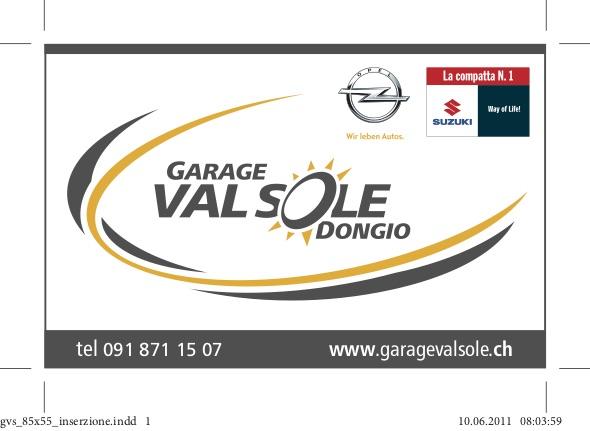 Banner Garage Valsole